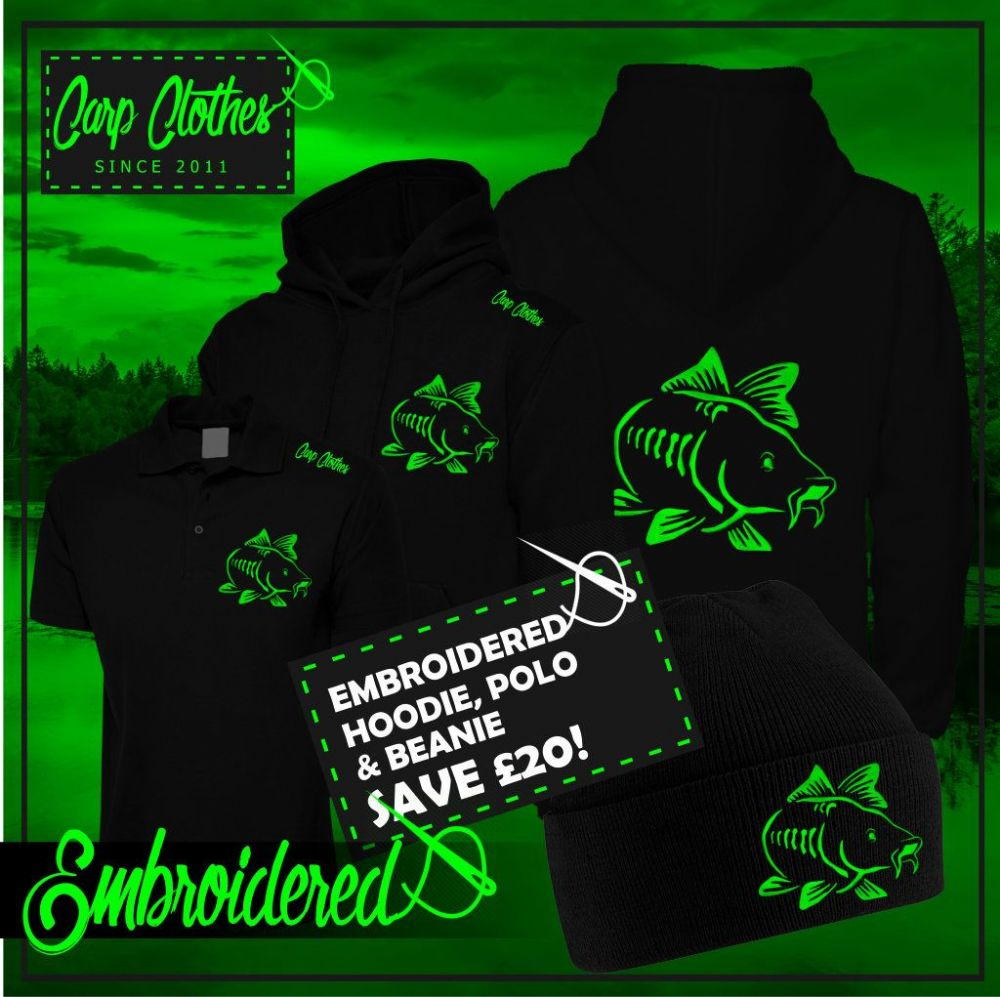 003 NEON EMBROIDERED CARP DEAL